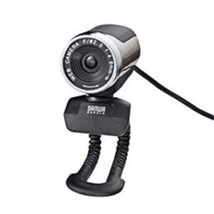 サンワサプライ WEBカメラセット(200万画素、シルバー) CMS-V30SETSV - 拡大画像
