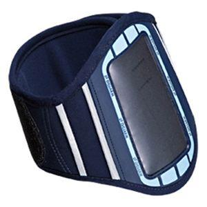 サンワサプライ アームバンドスポーツケース PDA-MP3C6BL - 拡大画像