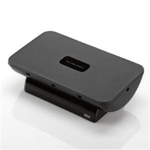 サンワサプライ 携帯電話・iPhone・iPod用ケーブル収納ボックス(ブラック) PDA-STN4BK - 拡大画像