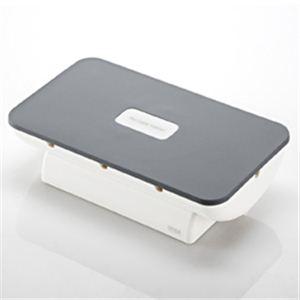 サンワサプライ 携帯電話・iPhone・iPod用ケーブル収納ボックス(ホワイト) PDA-STN4W - 拡大画像