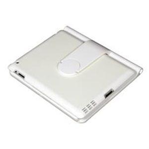 サンコー iPad2用360度回転キーボードカバーホワイト版 HCWKYIP3 h01