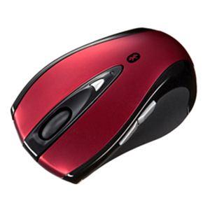 サンワサプライ Bluetoothレーザーマウス(レッド) MA-BTLS23R h01