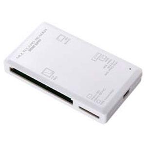 サンワサプライ USB2.0カードリーダー ADR-ML1W - 拡大画像