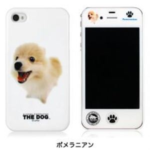 CUT&PASTE Cut&Paste THE DOG iPhone 4S/4 case ポメラニアン PIP4PC000M000