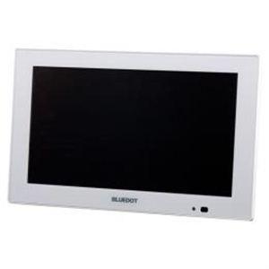 ブルードット BLUEDOT パーソナルデジタルテレビ9インチ ホワイト BTV-910W - 拡大画像