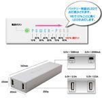 ルックイースト 大容量モバイル バッテリー ホワイト LE-UBT12K-WH
