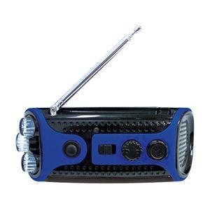 レッドスパイス クランキングラジオ&ライト /ブルー CB-G411BL - 拡大画像