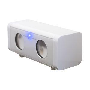 JESTTAX AC/USB/電池 巻取りスピーカー MS-P11 WH - 拡大画像