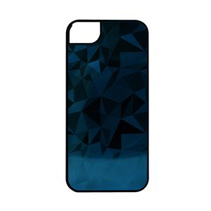 icover iPhone5用ケース COMBI DIAMONDシリーズ ブラックブルー AS-IP5CD-BKBL - 拡大画像