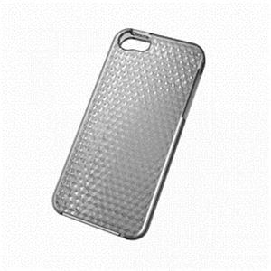 ELECOM(エレコム) iPhone 2012用ソフトケース(ダイヤモンドカット) PS-A12UCJBK h01