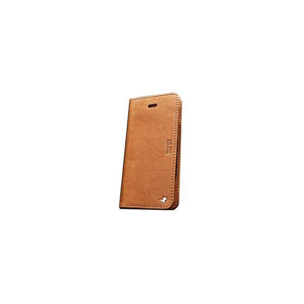 AEJEX iPhone5用ケース FLIPタイプ ブラウン AS-AJIP5F-BWf00