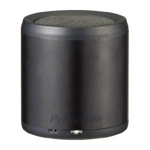 princeton Bluetoothワイヤレスミニスピーカー「BLUETUBE」(ブラック) PSP-BTS1B - 拡大画像