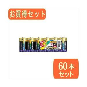 TOSHIBA(東芝)単1アルカリ電池 6本パック LR20AG 6MPx10パック LR20AG 6MPX10