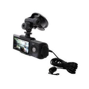 サンコー 前方後方録画可能GPS付きドライブレコーダー AVDL84GP - 拡大画像