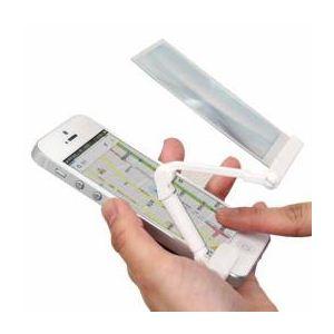 サンコー iPhone5対応らくらく操作ルーペ IP5ROPLP - 拡大画像