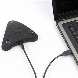 サンコー 会議で使える Skypeスピーカーフォン 「みんなで話す蔵」 USBSKPMT