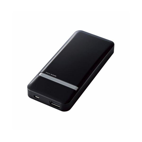 ELECOM(エレコム) スマートフォン用モバイルバッテリー DE-M01L-5020BKf00