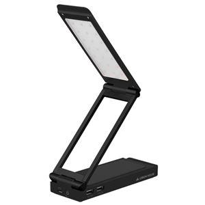 GREENHOUSE LEDスタンドライト付きモバイルバッテリ ブラック GH-BTL6000-BK