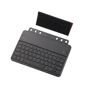 ELECOM(エレコム) クロスパッドiPad mini用ワイヤレスキーボード TK-FBP060IBK h01