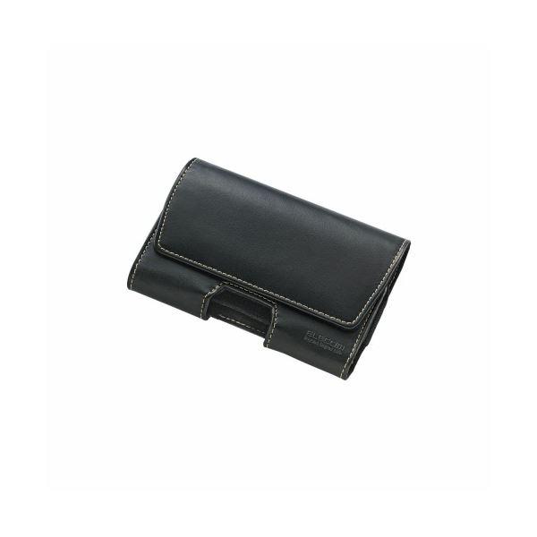 ELECOM(エレコム) スマートフォン用ベルトクリップケース(2台収納) P-01BCY2BKf00
