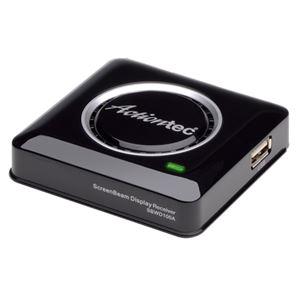 ラトックシステム Miracast/WiDi ワイヤレス・ディスプレイアダプター ScreenBeam Pro REX-WDTV1 - 拡大画像