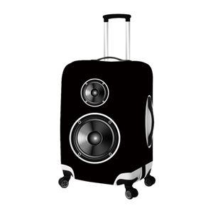 ミヨシ スーツケースカバー Lサイズ スピーカー MBZ-SCL/SP - 拡大画像