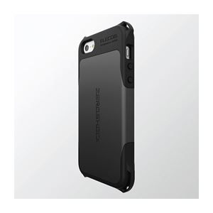 ELECOM(エレコム) iPhone5/5s用ZERO SHOCKケース(ブラック) PS-A12ZEROBK h01