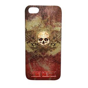 ブライトンネット iPhone5/5s用スカルケース スカルレッド BI-IPVSKULLS/R h01