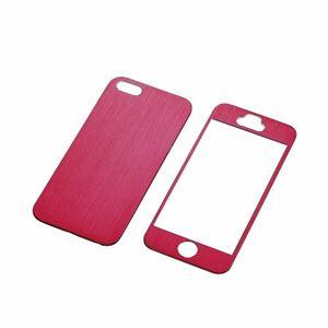 ELECOM(エレコム) iPhone5s/5用アルミパネル(レッド) PS-A12ALPRDN