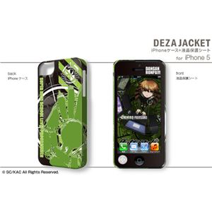 デザエッグ デザジャケット ダンガンロンパ The Animation iPhone 5ケース&保護シート デザイン04(不二咲千尋) DJAN-IPD6-m04 - 拡大画像