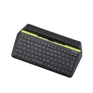 エレコム iOSタブレット用Bluetooth(R)キーボード TK-FBP067IBK - 拡大画像