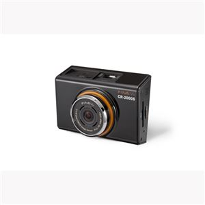 INBYTE 2カメラフルHD液晶付ドライブレコーダー CR-2000S - 拡大画像