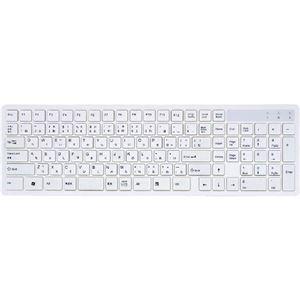 アオテック コンパクト108キー日本語キーボード AOK-AP108WH h01