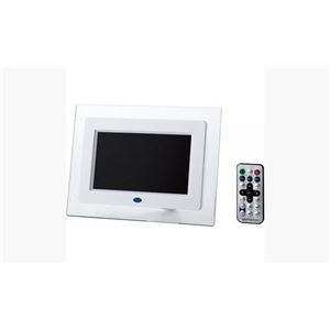 ITPROTECH クリアパネル7インチデジタルフォトフレーム IPT-DF70-W h01