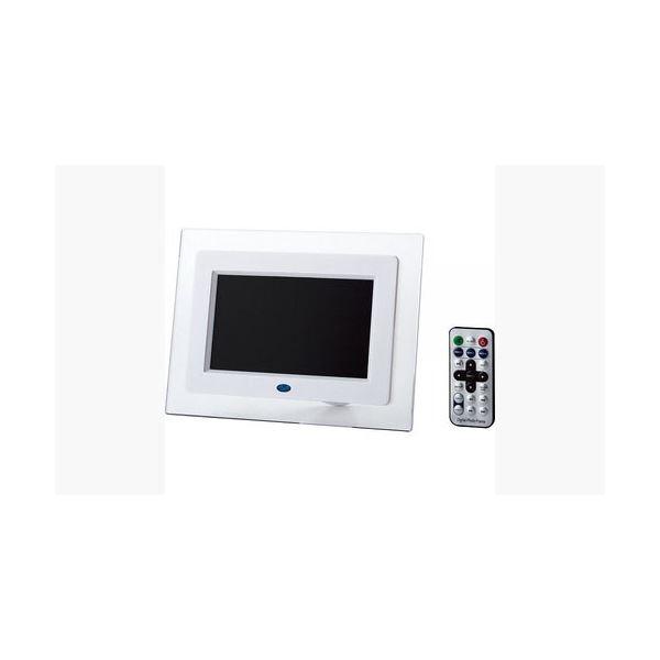 ITPROTECH クリアパネル7インチデジタルフォトフレーム IPT-DF70-Wf00