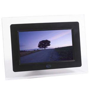 ITPROTECH クリアパネル7インチデジタルフォトフレーム IPT-DF70-BK - 拡大画像