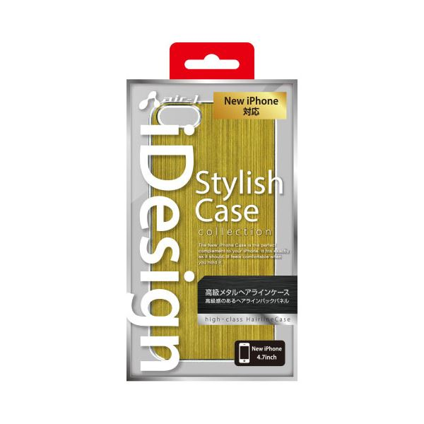 エアージェイ iPhone6(4.7inch) メタルケース Gold AC-P47-MT GDf00