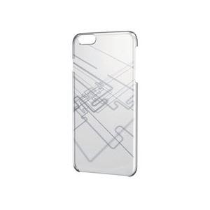 ELECOM(エレコム) iPhone 6 Plus用シェルカバー/シルバー PM-A14LPVAT04 - 拡大画像