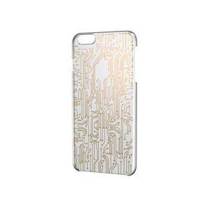 ELECOM(エレコム) iPhone 6 Plus用シェルカバー/ゴールド PM-A14LPVATG03 - 拡大画像