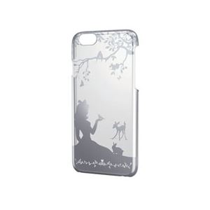 エレコム iPhone 6用シェルカバー/シルバー PM-A14PVAT02