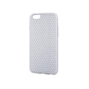 エレコム iPhone 6用ソフトケースダイヤモンドカット PM-A14UCJCR
