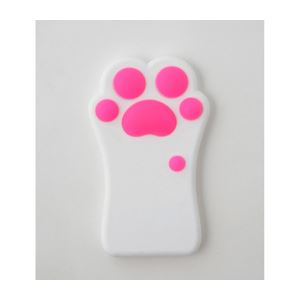 Cut&Paste nikuQ Cat Paw iPhone 6ケース ホワイト CP14NIKUQ-W
