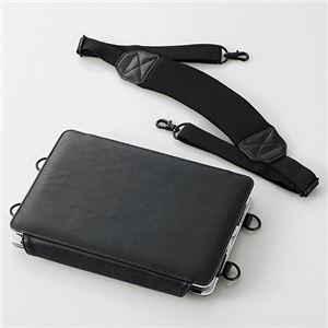 ELECOM(エレコム) iPad air用画板タイプソフトレザーケース TB-A13LCSSBK h01