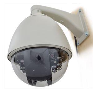 サンコー スピードドームジョイスティック付防犯カメラシステム STSPDM54 - 拡大画像