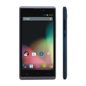 ブルードット SIMフリーAndroidスマートフォン ブラック BNP-500K - 拡大画像