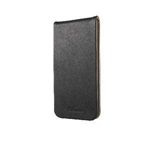 ELECOM(エレコム) iPhone 6 Plus用ソフトレザーカバー縦フラップ PM-A14LPLFTBK
