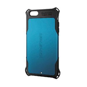 ELECOM(エレコム) iPhone 6 Plus用ZEROSHOCKケース PM-A14LZEROBU - 拡大画像