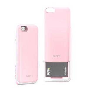 セブンシーズ・パスタ iPhone6用スロットル式保護ケース SLIDER ベイビーピンク SLIPK h01