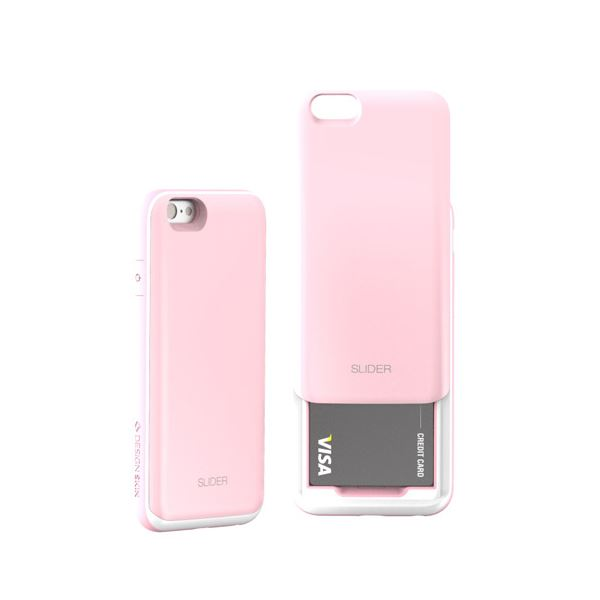 セブンシーズ・パスタ iPhone6用スロットル式保護ケース SLIDER ベイビーピンク SLIPKf00