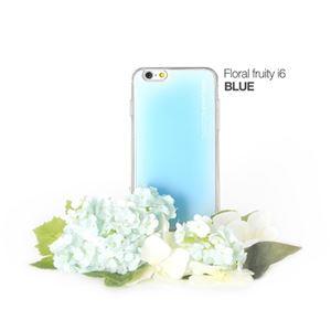 セブンシーズ・パスタ iPhone6用香り付き保護ケース Aroma(アロマ) case Floral fruity blue ACFB - 拡大画像